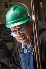 Ramon Ayala, Materials handler, Delta Star