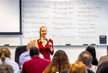Lea Grundy, Groundworks Campaigns, discusses how to make a difference on election day.