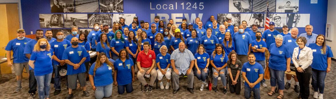 IBEW 1245 Organizing Stewards 7-30-21