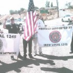Nevada Members and Retirees Join Labor Day Parade in Virginia City