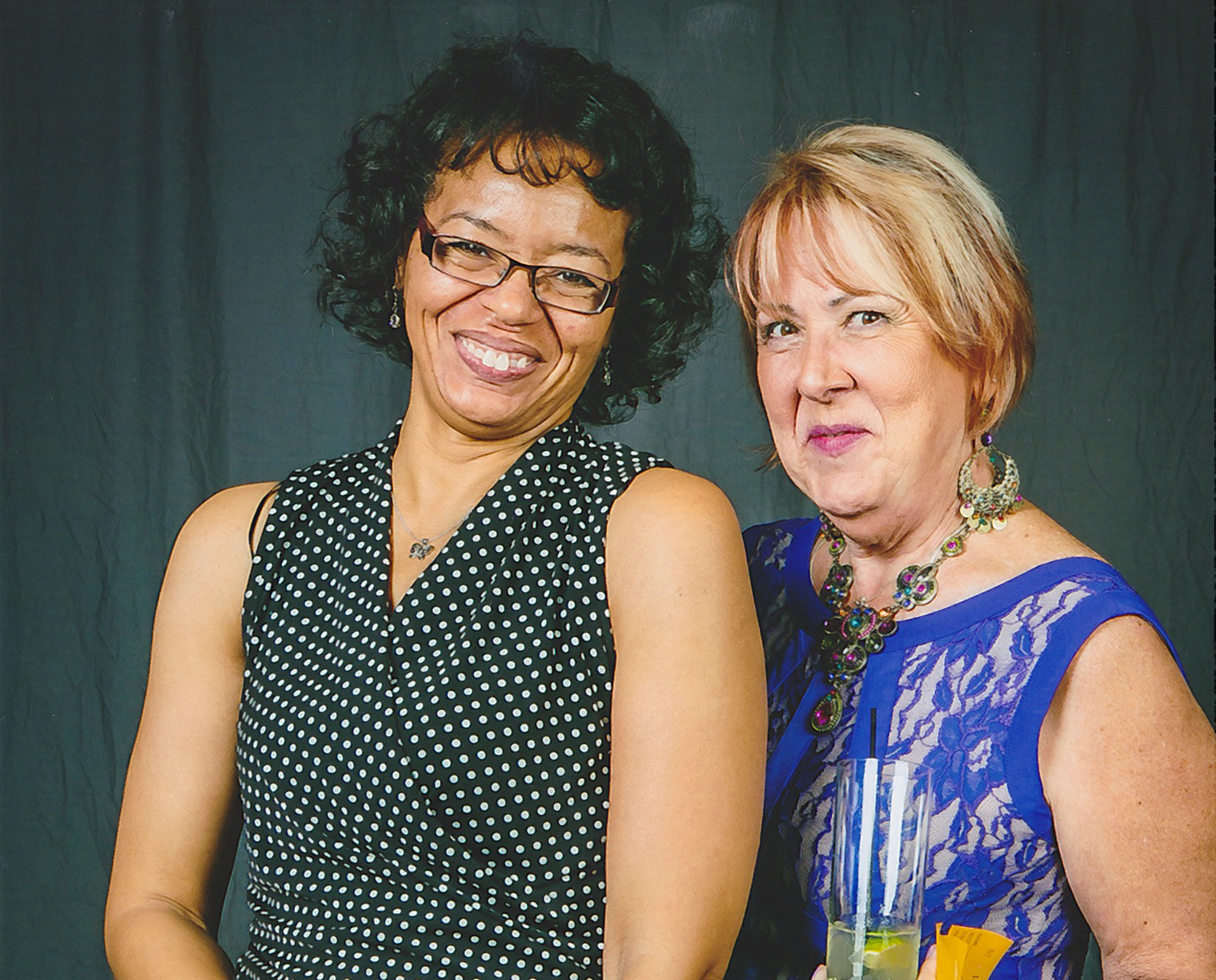 Debbie with IBEW 1245 Office Manager Tonya Alston.