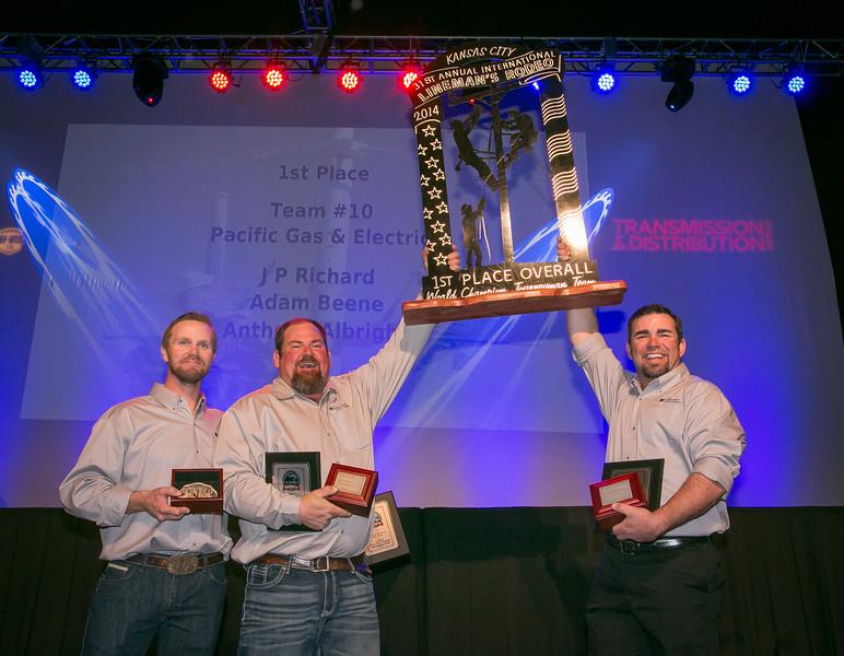 Ibew 1245 Crew Wins 1st Place At International Lineman S Rodeo