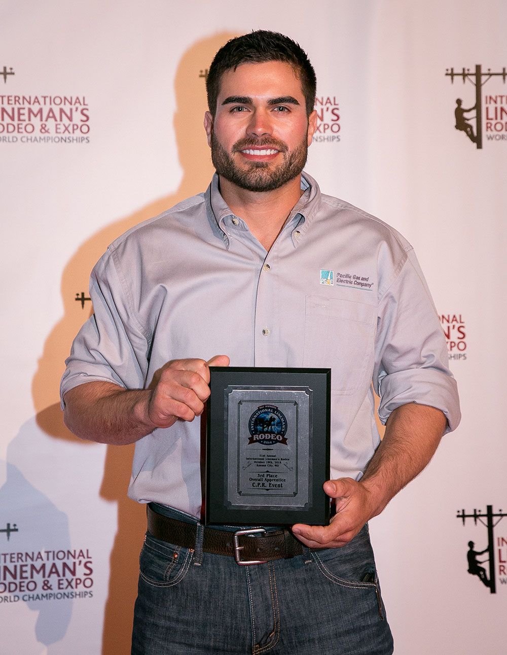 Mike Moreno came in 3rd place in Apprentice Hurtman Rescue and Apprentice CPR events