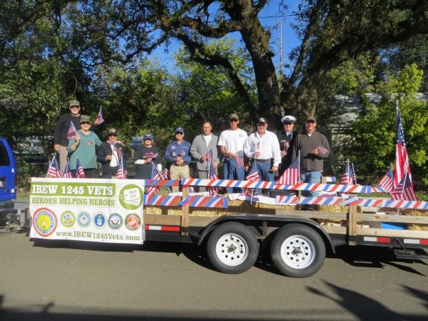 IBEW 1245 Joins Veterans Day Parades in Sacramento, Shasta ...