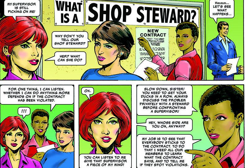 steward comic carousel