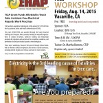 August 14: Electrical Hazard Awareness Workshop for Tree Trimmers