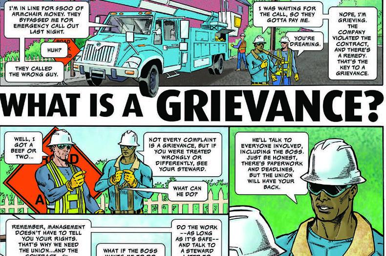 Grievance Comic slider