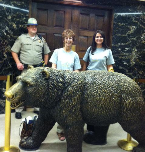 Lobby visit in Sacramento