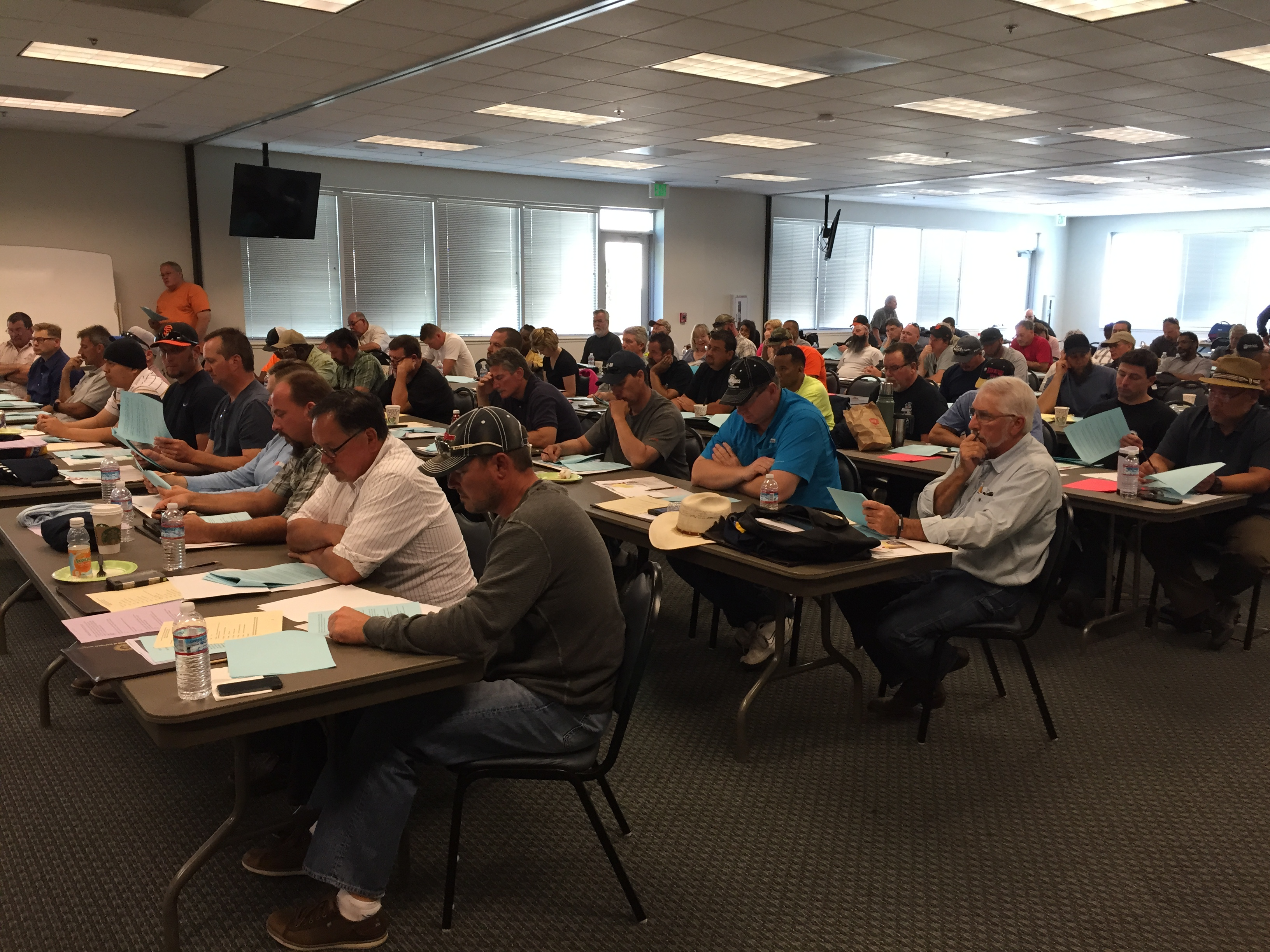 69 shop stewards attended the Public Sector/Private Sector training in Vacaville