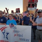 IBEW 1245 Retiree Leads NARA Group in Support of Culinary Union in Las Vegas