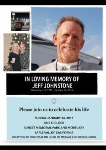 jeff johnstone memorial