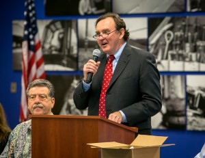 California Labor Federation leader Art Pulaski called the Organizing Stewards