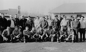 Sierra Pacific Power Co. personnel in Reno, Nevada in the late 1950s. IBEW 1245 Archive
