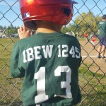 "Local 1245 Staffer Sponsors Little League Team, Dubbed ""IBEW 1245"""