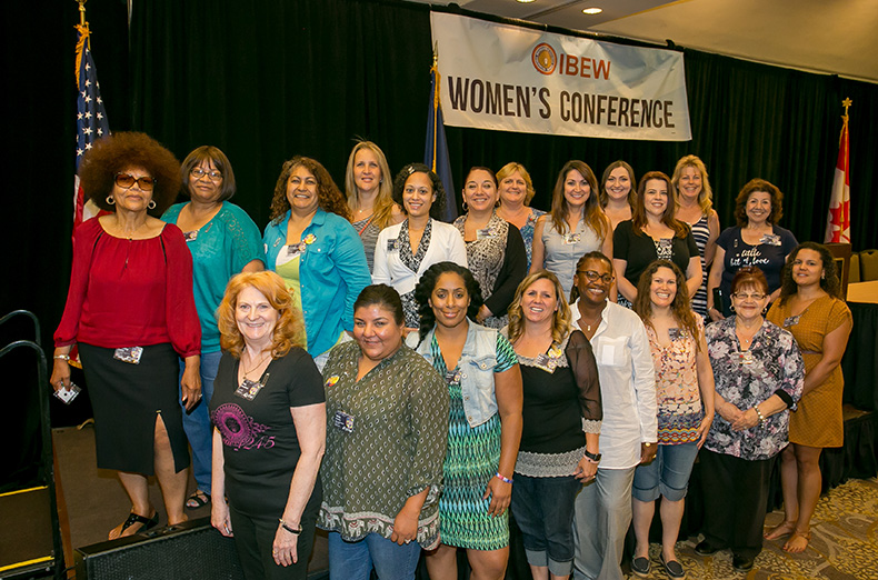 The IBEW International Women's Conference in Phoenix, Arizona on June 22nd, 2016.