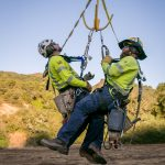 Flying High: Par Electric crew replaces a 230KV line in Atascadero