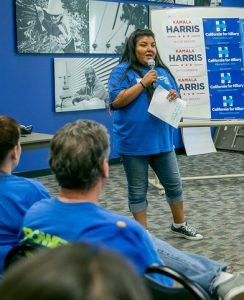 Organizing Steward Nilda Garcia