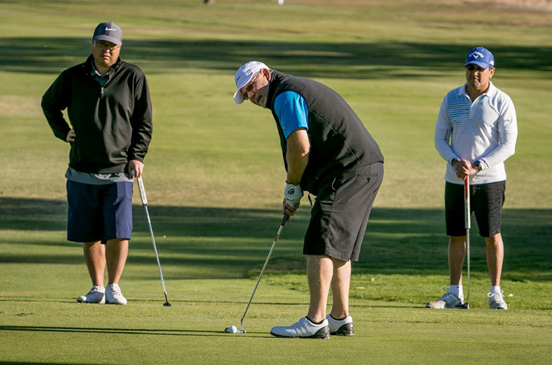 The IBEW 1245 Golf Tournament at the Cypress Lakes Golf Course in Vacaville, Calif. on October 8th, 2016.