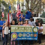 Local 1245 Joins Sacramento Veterans Day Parade