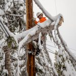 Braving the Blizzard:  Local 1245 linemen restore power after massive snowstorms sweep through Tahoe