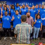 New Class of Organizing Stewards Sworn In