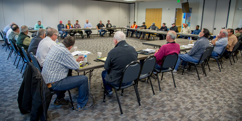IBEW Local 1245 Tree Safety Roundtable at the union hall in Vacaville, Calif. on January 31st, 2017.