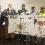 Lompoc Unit Donates $250 to Aspiring Lineman