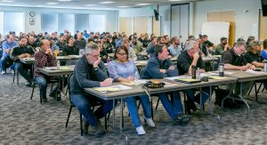 The Public and Private Sector Shop Stewards Conference at Weakley Hall on March 2, 2017