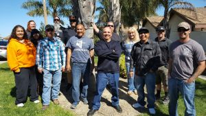 The City of Lompoc Shop Stewards posed for a photo during thier Steward Conference