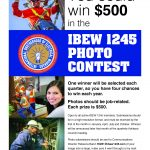 Local 1245 Launches Quarterly Photo Contest with $500 Prize