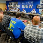 PG&E Execs Meet with Local 1245 Staff to Discuss Competitive Challenges