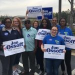 Georgia on My Mind —  Local 1245 Organizing Stewards join campaign to elect Ossoff to Congress