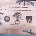 "Keep the Clearance Peer Initiative Recognized by PG&E / La Iniciativa ""Mantenga la Distancia"" Recibió un Reconocimiento de PG&E"