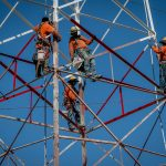 Tower of Power: Local 1245 members recoat transmission towers to protect the environment