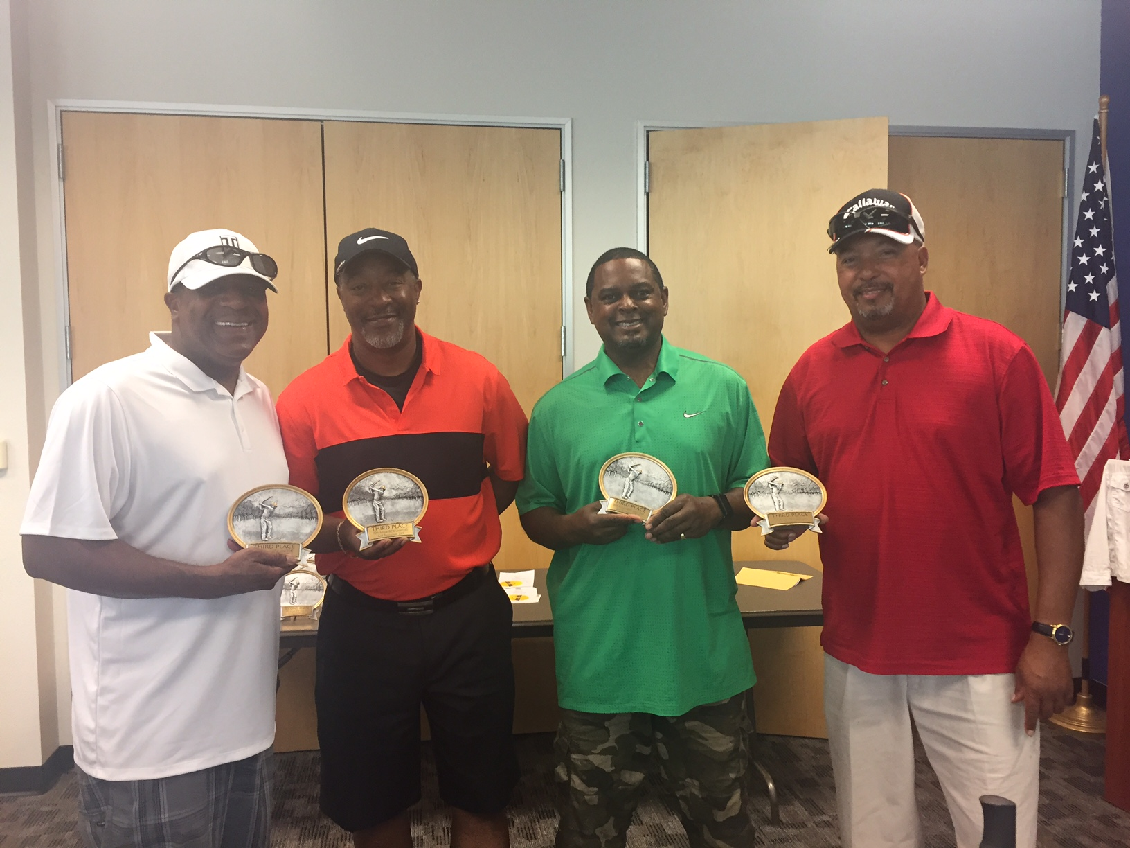 3rd Place - Eric Wright, Ezzard Carney, Pernell Wilsott and Terry Carney