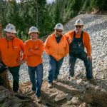 The Road to Salt Springs: PG&E GC Hydro crew repairs access road washed out by storms