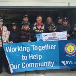 Local 1245 Members at NV Energy Raise Funds for Evelyn Mount's Holiday Food Drive
