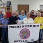 Winnemucca Retirees Present Donation to Humboldt County Senior Center