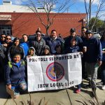 Local 1245 Organizing Stewards Spread the Word About Free Tax Prep in Sacramento