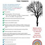 Tentative Agreement for Line Clearance Tree Trimmers/ Acuerdo Tentativo para los Podadores de Arbores