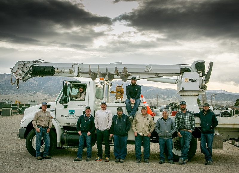Local 1245 Members at Mt  Wheeler Bring Power to Rural Nevada
