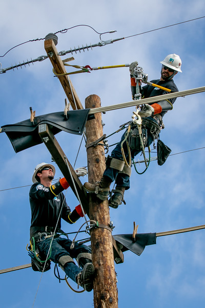 West Coast Lineman S Rodeo Reaches New Heights