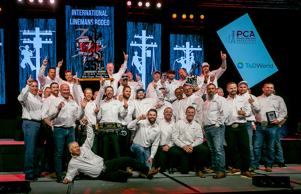 The Local 1245 competitors from PG&E