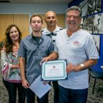 Al Sandoval Memorial Scholarship Contest Winner Recognized at Advisory Council