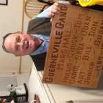 "Santa Rosa Retirees Club President Receives Sentimental ""Guerneville Gang"" Plaque"