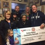 Local 1245 Members at NV Energy Support Evelyn Mount's Annual Food Drive