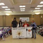 IBEW 1245 Family Distributes 120 Bikes to Children in Lompoc