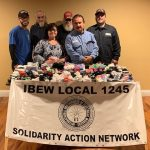 Manufacturing Unit Donates Socks to Sunnyvale Community Services