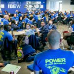 Catching the Organizing Bug — The 2019 class of IBEW 1245 organizing stewards learn from the past and prepare for the future