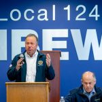 Sen. Bill Dodd Thanks Local 1245 for Assisting in the Passage of Wildfire Legislation